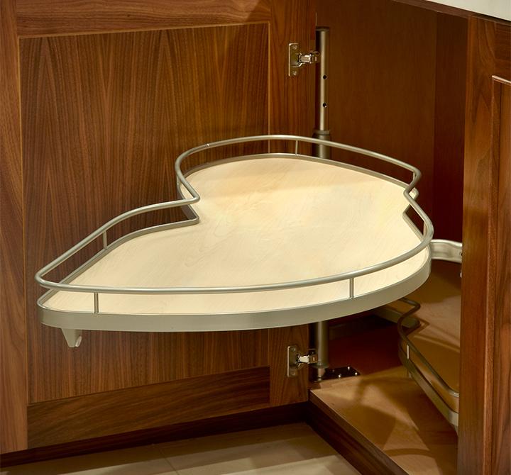 Plain Kitchen Cabinets: Custom Kitchen Cabinets In Natural Walnut Plain & Fancy