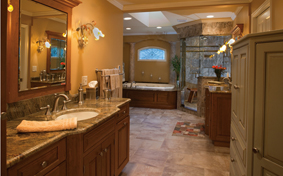 Bathroom Cabinetry Fit for Two