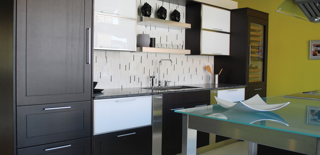 Contemporary Kitchen Cabinets in Simplicity