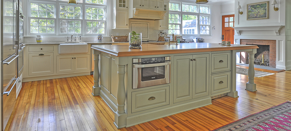 Traditional Cabinetry that aims to please