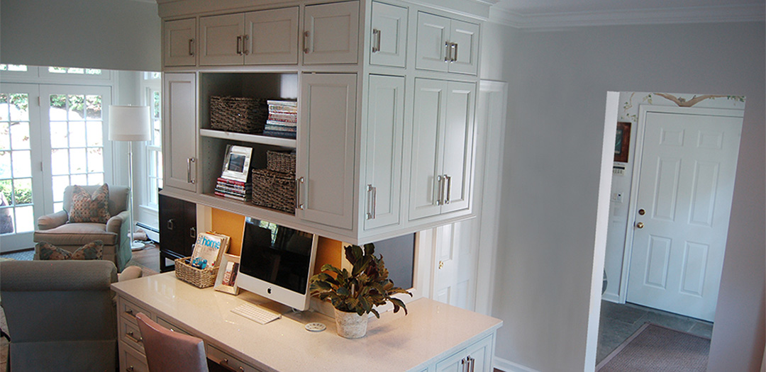 Custom Cabinetry for Work and Play