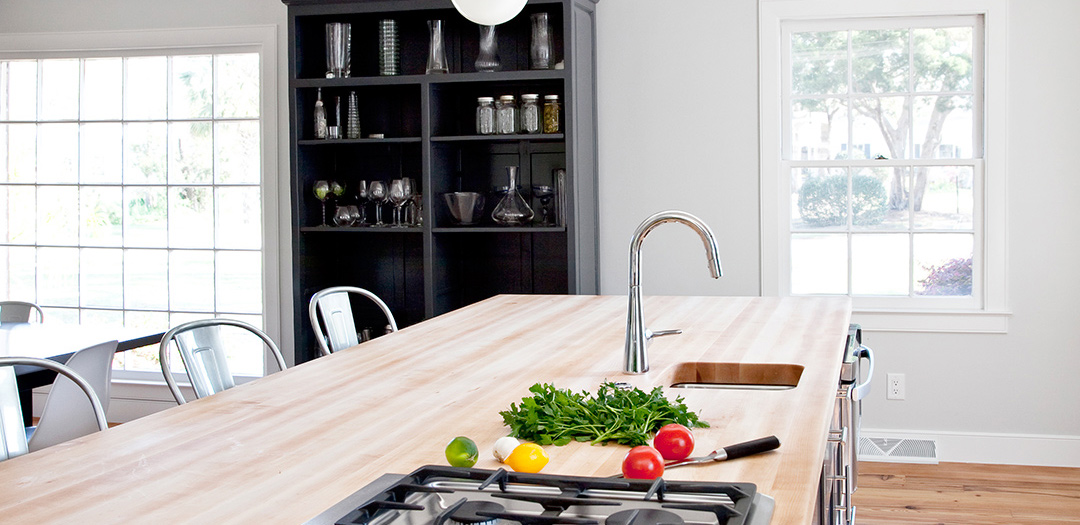 Contemporary Kitchen Cabinets Fit for Cooking