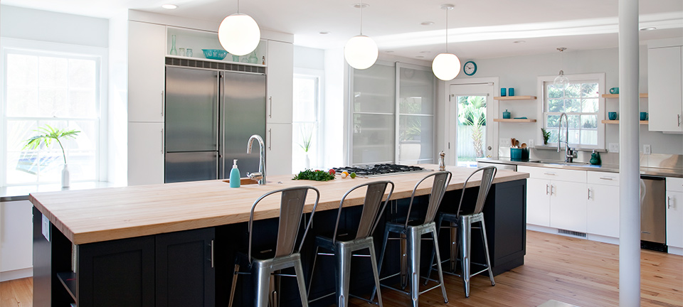 Contemporary kitchen fit for cooking