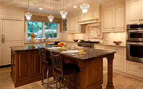 Artfully Chic Kitchen Cabinetry