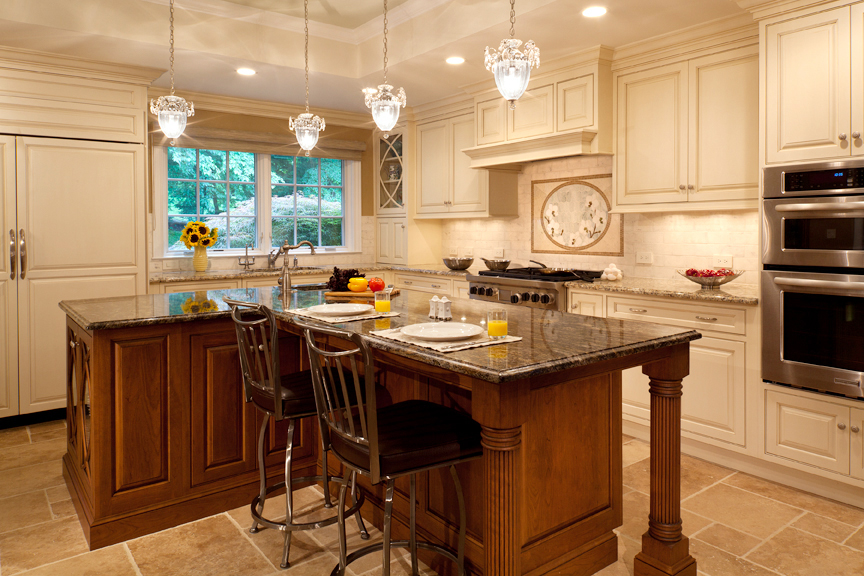 French Country Kitchen With Earthy Chic Style Plain Fancy