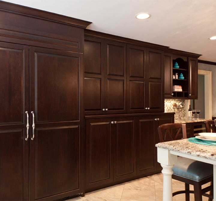 Cabinets With Sophistication & Depth Plain & Fancy Cabinetry