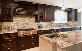 Kitchen Cabinets with Sophistication and Depth