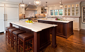 Spacious Kitchen cabinets For Friends and Family