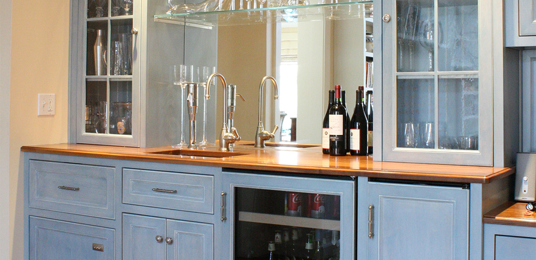 A Toast to Custom Cabinetry