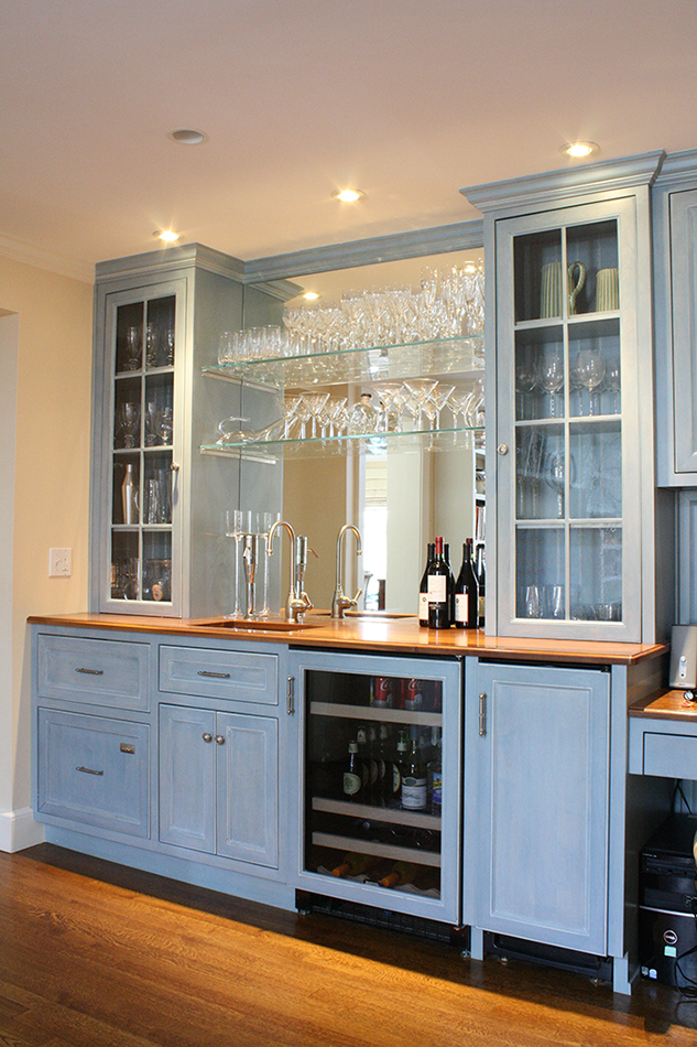 A Toast To Custom Cabinetry Plain Amp Fancy
