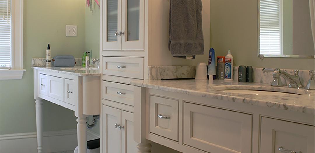 Junior Bathroom Custom Cabinets