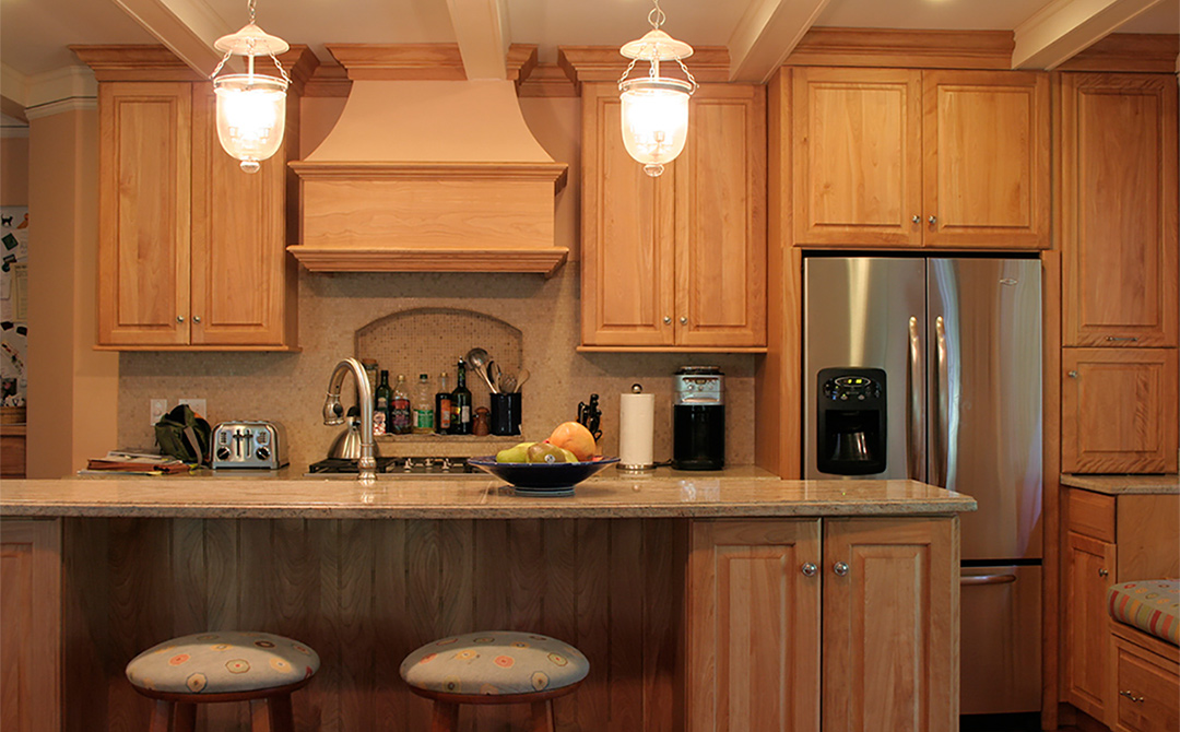 Traditional Kitchen With Natural Beauty Plain Amp Fancy