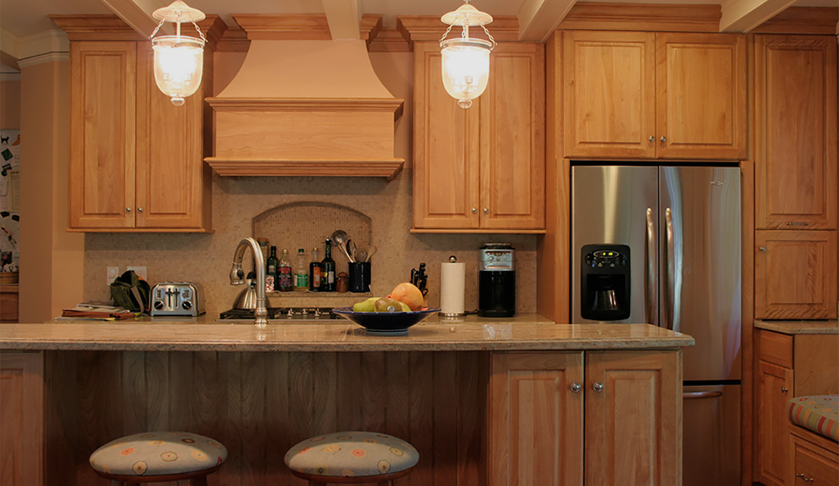 Traditional Kitchen with Natural Beauty Plain & Fancy