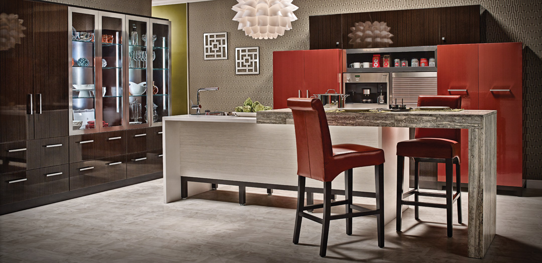 Contemporary Kitchen Cabinets with an Urban Twist
