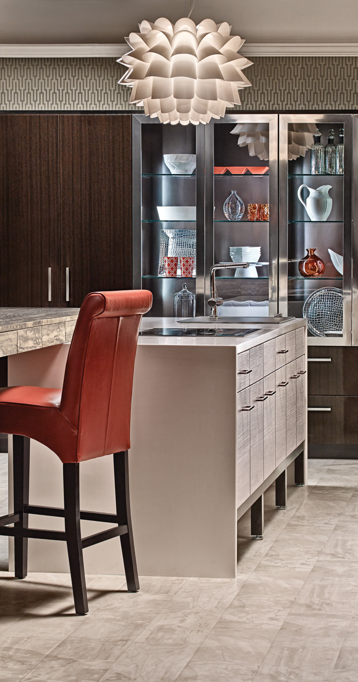 Urban Contemporary Kitchen Cabinets | Plain & Fancy Cabinetry
