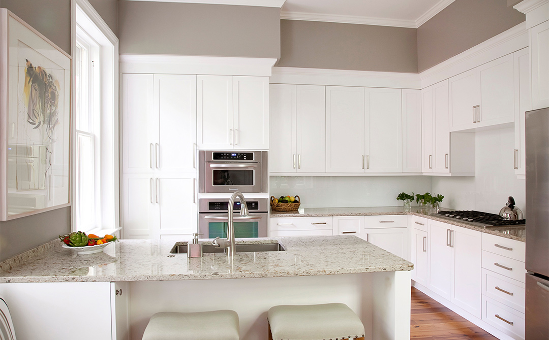 Plain Kitchen Cabinets Design Decoration