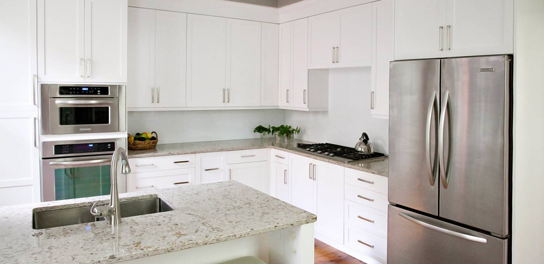 Contemporary Kitchen Cabinets with an Inviting Feel