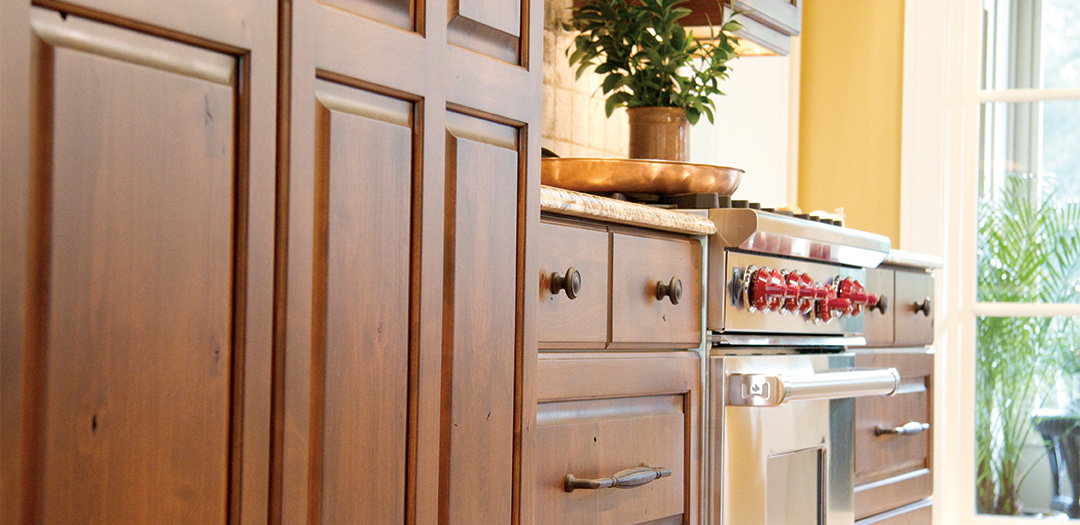 Cottage Cabinets with Comfortable Variety