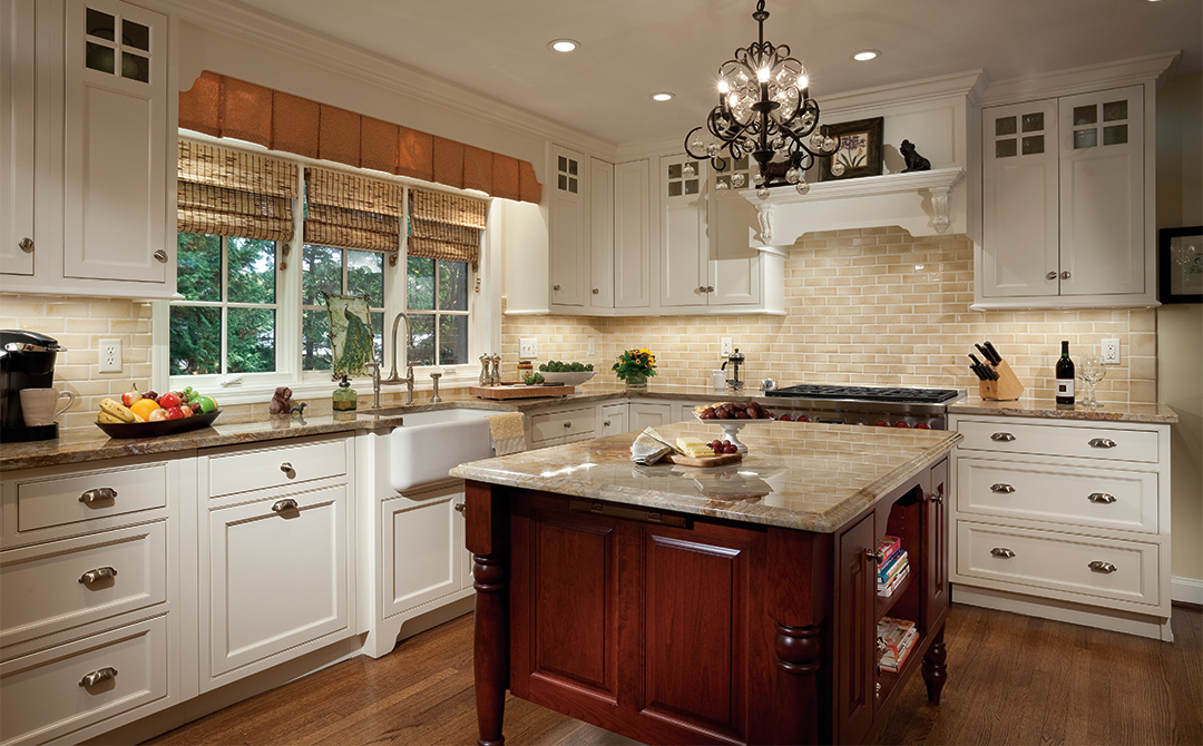 Cabinets with Subtle Sophistication Plain & Fancy Cabinetry
