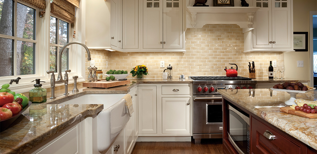 Traditional Cabinets with Subtle Sophistication