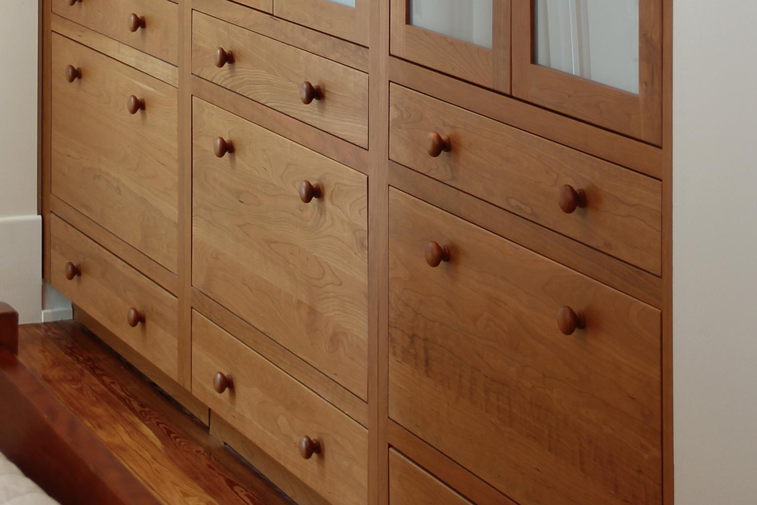 Built-in Custom Cabinets for the Bedroom | Plain & Fancy