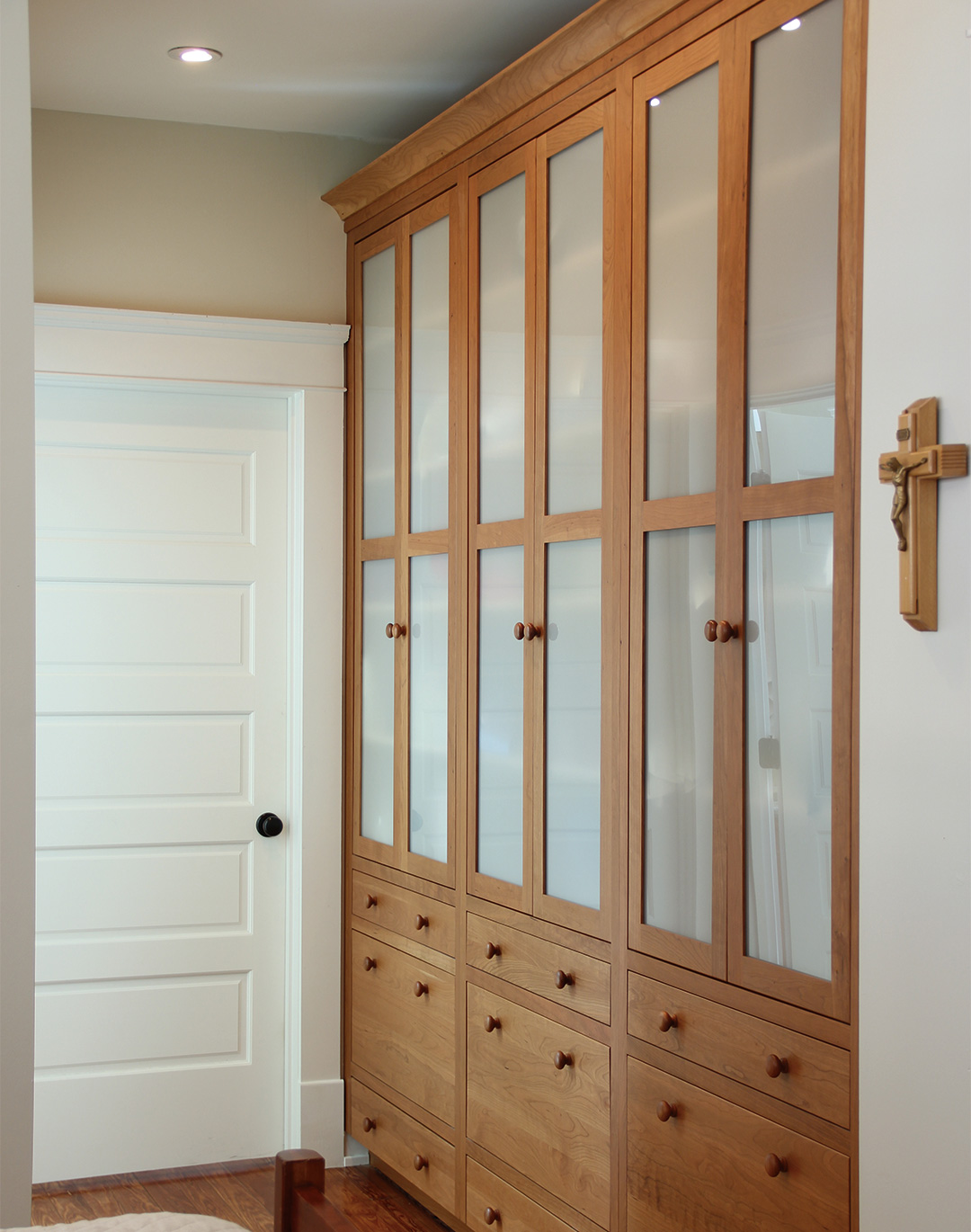 Built In Custom Cabinets For The Bedroom Plain Fancy Cabinetry
