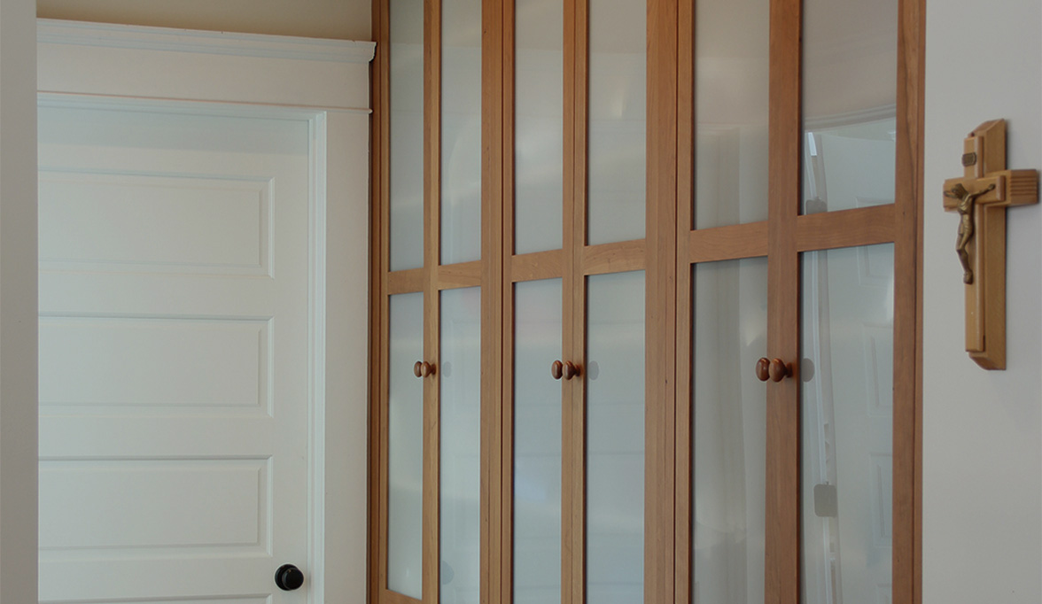 Built-in Custom Cabinets for the Bedroom | Plain & Fancy Cabinetry