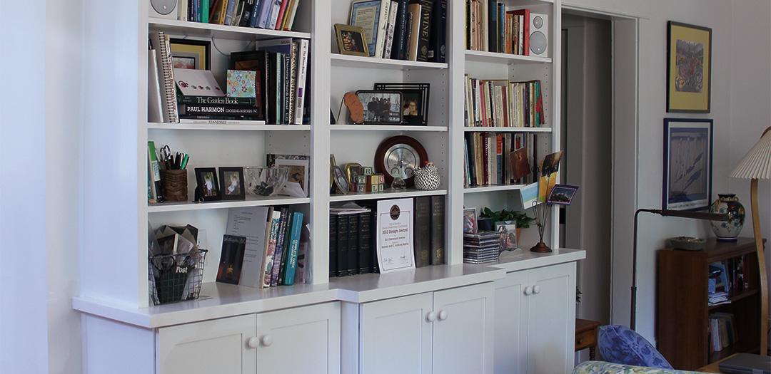 Custom Cabinets for the Avid Reader