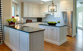 Right at Home with Traditional Kitchen Cabinets