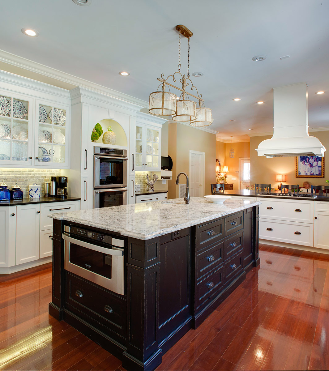 Traditional Kitchen Cabinetry with Rustic Elegance | Plain ...