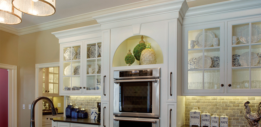 Traditional Kitchen Cabinetry with Rustic Elegance