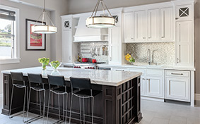 Refined Contemporary Kitchen with Casual Appeal