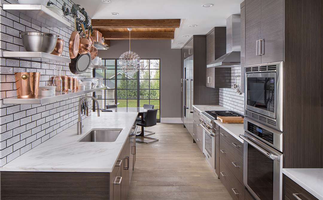 Contemporary kitchen cabinets with an industrial feel - Scratch and dent bathroom vanities near me ...