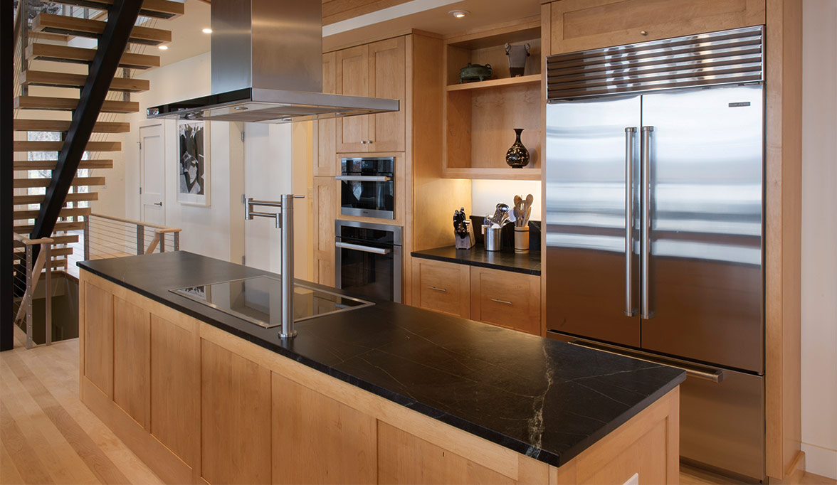Contemporary Cabinetry That Goes Against The Grain Custom