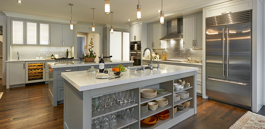 Fancy kitchen island designs