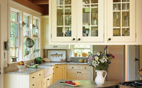 Custom Kitchen Cabinets a Dapper Destination