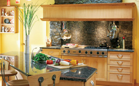 Organic Lodge KItchen Cabinets