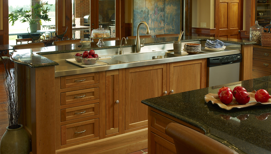 Rustic Chic Kitchen : ... .com/kitchen-cabinets/arts-and-crafts-kitchen-cabinets/rustic-chic